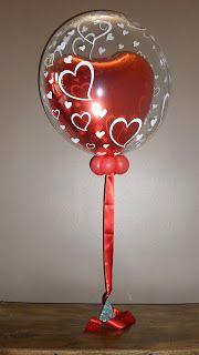 Microfoil™ Balloon inside a Qualatex Bubble -The Very Best Balloon Blog
