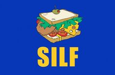 SILF - by Busted Tees.     If you have to ask what it means...well you should to still buy it. It's pretty awesome.