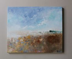 paintinglandscapepainting on canvas Abstract by oakartgallery