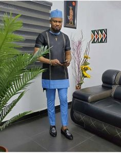 Latest African Men Fashion, Latest African Wear For Men, African Shirts For Men, African Dresses Men, Nigerian Men Fashion, African Fashion Skirts, African Suits, African Clothes, Africa Fashion