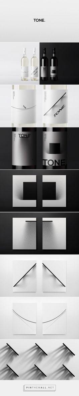 Tone. Wine Packaging Design by Nikita Ivanov (Russia) - http://www.packagingoftheworld.com/2016/05/tone-wine.html