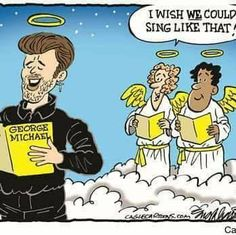 The Heavenly voice of George Michael