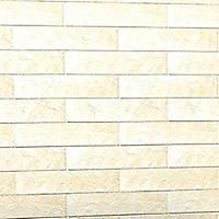 Effetto mattoni per il muro bianco grezzo ceramiche for Piastrelle effetto pietra leroy merlin