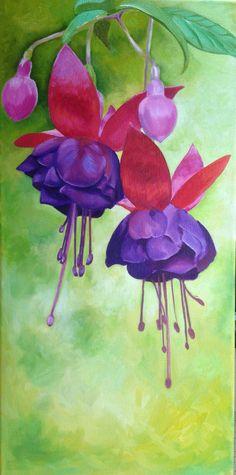 Oil on canvas, artist  Amelia Punton