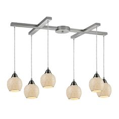 Suspend this chic island light over your kitchen workspace or a long dining table for bold illumination.Product: Island light