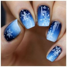 36 super holiday nail art design ideas best for the winter season - . - 36 great holiday nail art design ideas best for the winter season - Diy Christmas Nail Art, Christmas Nail Art Designs, Holiday Nail Art, Winter Nail Designs, Winter Nail Art, Winter Nails, Christmas Snowflakes, Merry Christmas, Winter Christmas
