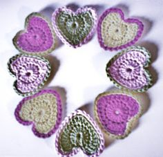 MICROCKNIT CREATIONS: Perfect Hearts - Filling you with Love