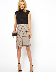 I like the skirt...different.
