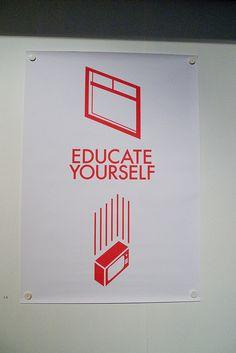 #screenprint educate yourself.