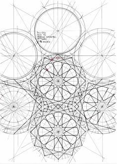The Art Curators: Photo Islamic Art Pattern, Arabic Pattern, Geometry Pattern, Pattern Art, Arabic Design, Arabic Art, Geometric Drawing, Geometric Shapes, Arabesque