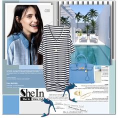 Still got the blues by stellaasteria on Polyvore featuring Hermès, Maison Margiela, Zoë Chicco, Dolce&Gabbana and Oscar Tiye
