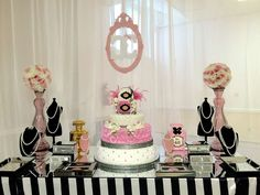 Chanel Baby Shower Party Ideas | Photo 7 of 19 | Catch My Party
