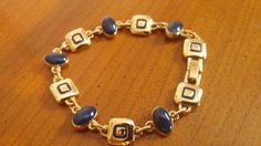 Liz Claiborne signed LC beautiful gold tone by VintageInspiredNow