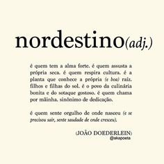 """""""... é o nordeste em forma de gente"""" More Than Words, Some Words, Story Instagram, Literary Quotes, Printable Quotes, Meaningful Words, Book Quotes, Inspire Me, Sentences"""