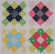 symmetrical granny squares by Shannon