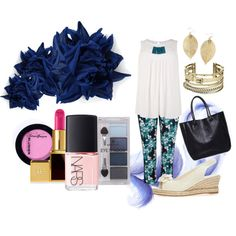 Untitled #454 by pamela-heinbaugh on Polyvore featuring Evans, Michael Kors, Erika Cavallini Semi-Couture, Tom Ford, Pieces and NARS Cosmetics