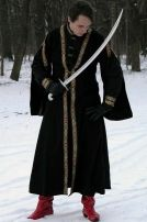 MEDIEVAL TUNIC+WOOL OVERCOAT