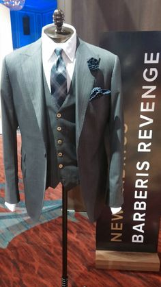 Beautiful Revenge 3 Piece Suit Made To Measure for the Man in your life!