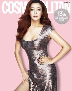 Kim Hee Sun Cosmopolitan Korea Magazine September 2013