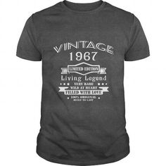 Vintage Age 50 Years 1967 Perfect 50th Birthday
