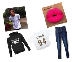 """""""Mrs Harry styles"""" by daniellelov ❤ liked on Polyvore featuring art"""