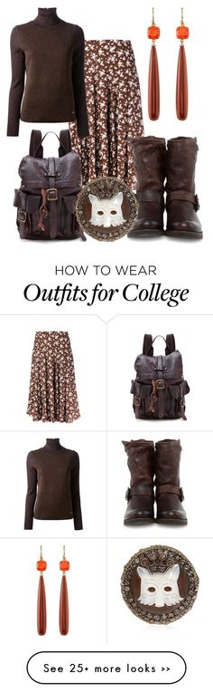 """Collegiate"" by rellenj on Polyvore"