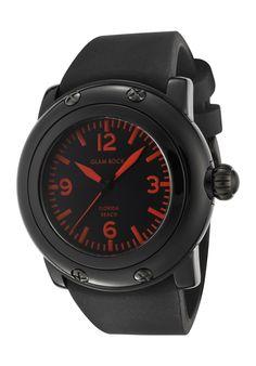 Ladies' Miami Beach Watch In Black & Green Rock Watch, Oversized Watches, Beach Watch, Black Jewelry, Glam Rock, Florida Beaches, Sport Watches, Miami Beach, Casio Watch