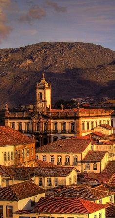Ouro Preto - Brazil - è una città coloniale di Minas Gerais  Stato di Minas Gerais