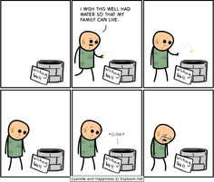 Just a little Cyanide and Happiness