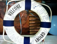 Love this nautical Baby Shower Ideas For Boys | Nautical Baby Boy Shower | Project Nursery...