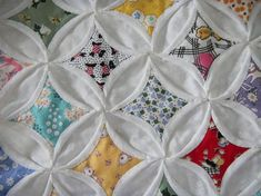 How to Make an Easy Cathedral Window Quilt