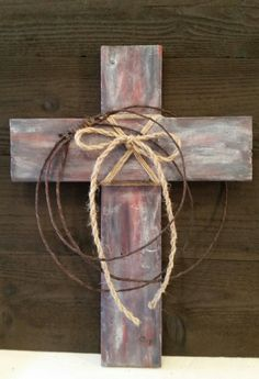 #crosswalldecor https://www.etsy.com/listing/203252101/decorative-wall-cross-hand-painted-wood