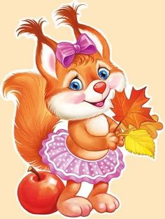 VK is the largest European social network with more than 100 million active users. Cute Cartoon Pictures, Cartoon Pics, Animal Pictures, Cute Pictures, Animals Images, Cute Animals, Fall Arts And Crafts, Walt Disney Characters, Fall Coloring Pages