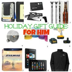 Holiday Gift Guide: for Him | Faithful Provisions