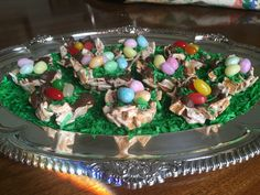 """OKLAHOMA CITY –This is a fantastic way to engage the kids in dessert/treat making, and all ages love the result. The process requires three steps: the making of the actual """"nests,&#822…"""