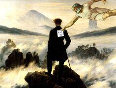 """Blog-Bluff: """"La Creacion de Adan"""" por Miguel Angel (Parodias)"""
