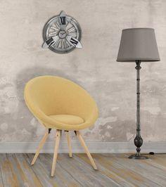 Fotoliu tapitat Mission Mustard #homedecor #interiordesign #inspiration #retro #yellow #colors #glamour #design Mustard, Home Appliances, Glamour, Flooring, Interior Design, Retro, Chair, Yellow, Colors