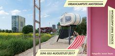 UrbanCampsite Amsterdam slapen in een bijzondere object op een bijzondere lokatie.