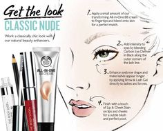 Get the Classic Look from The Body Shop, Featuring Lip & Cheek Stain, Brow & Lash Gel, Eye Definer and All-In-One BB Cream. Shop the look online now! Makeup 101, Makeup Inspo, Eye Makeup, Makeup Hacks, Body Shop At Home, The Body Shop, Beauty Care, Beauty Hacks, Beauty Skin