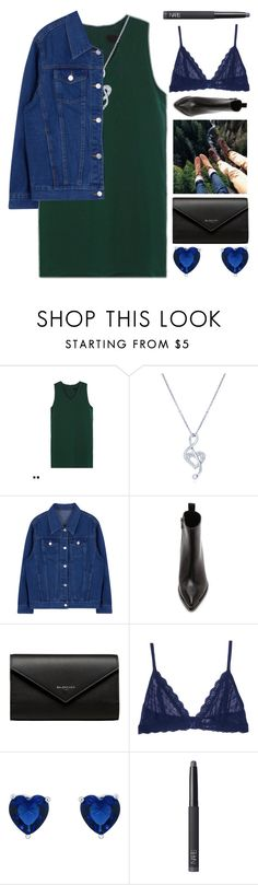 """""""Body Types"""" by xxpai ❤ liked on Polyvore featuring BERRICLE, Acne Studios, Balenciaga, Eberjey and NARS Cosmetics"""