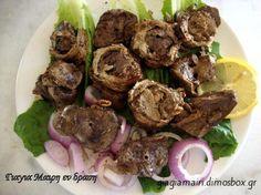 Κοκορέτσι κατσαρόλας Beef, Ethnic Recipes, Food, Recipies, Meat, Essen, Meals, Yemek, Eten