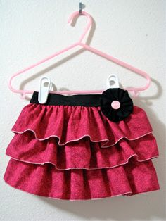 """Homestitched: The """"Be Mine"""" Skirt"""