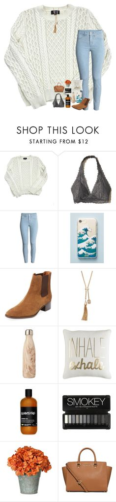 """Never mind."" by livvypreppydancer ❤ liked on Polyvore featuring A.P.C., Hollister Co., Sonix, Frye, Jennifer Lopez and MICHAEL Michael Kors"