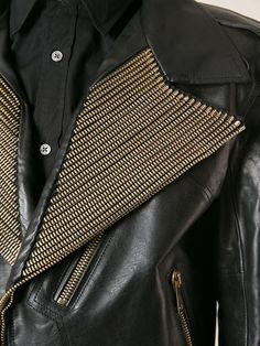 Alexander Mcqueen Embellished Biker Jacket - Eraldo - Farfetch.com