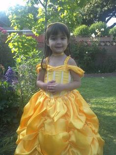 Princess Belle beauty and the Beast costume dress by CnL4Etsy, $70.00