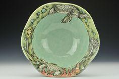 Uno Modo [CJN053] - $250.00 : Charlie Cummings Gallery #CJNiehaus #porcelain #ceramics #turtle #CharlieCummingsGallery