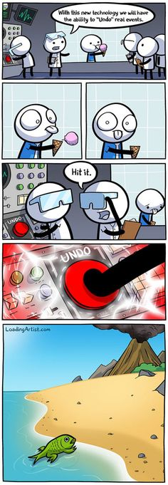 I'll just push that red button.