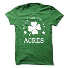 [SPECIAL] Kiss me Im An ACRES St. Patricks days - hoodie women #sweatshirt refashion #sweatshirt menswear