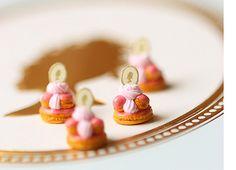 Miniature Patisserie - Marie Antoinette Saint Honore Desserts
