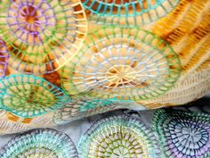 Jaki Bogg - North Yorkshire Open Studios - At present Jaki's work explores the past: the cycle of life, birth and death. When working with fabrics, she is primarily a hand stitcher, enjoying the slow rhythmic movement of needle and thread